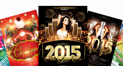 End New Year Flyers