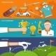 Golf Banner Set - GraphicRiver Item for Sale