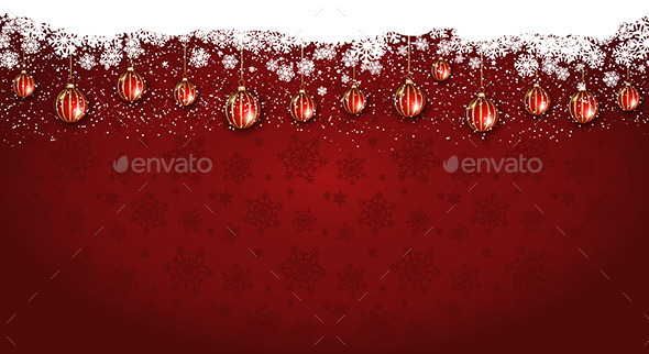GraphicRiver Christmas Background 9747395