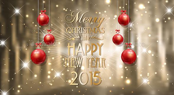 GraphicRiver Christmas Background 9747488