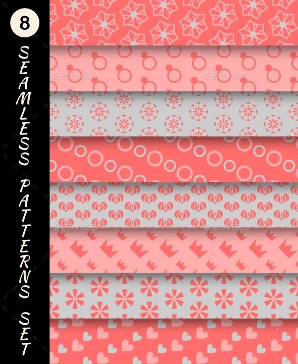 GraphicRiver Seamless Patterns Set 9747505