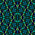 Geometric Abstract Vivid Cold Tones Pattern - PhotoDune Item for Sale