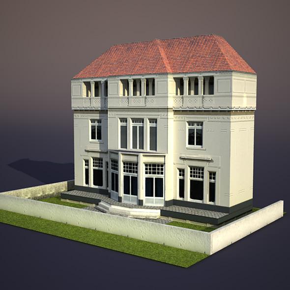 3DOcean Apartment House #26 9748123