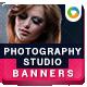 Photo Studio Banners - GraphicRiver Item for Sale