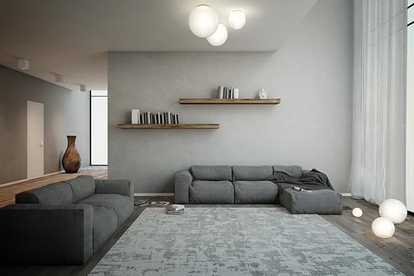 3DOcean sofa 3seats #01 9748189