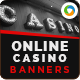 Online Casino Banners - GraphicRiver Item for Sale