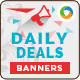 Daily Deals Website Banners - GraphicRiver Item for Sale