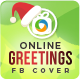 Online Greeting Cards FB Cover Page - GraphicRiver Item for Sale