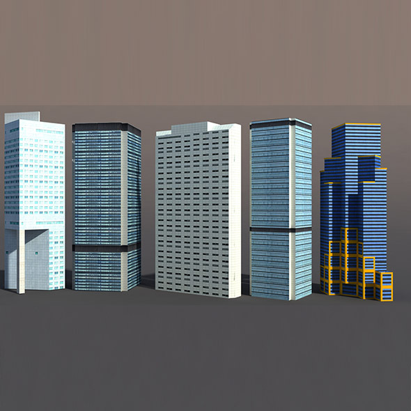 3DOcean High Rise Buildings 9748689