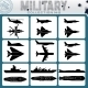 Military Planes and Warships - GraphicRiver Item for Sale