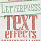 Letterpress Vintage Text Effects - GraphicRiver Item for Sale