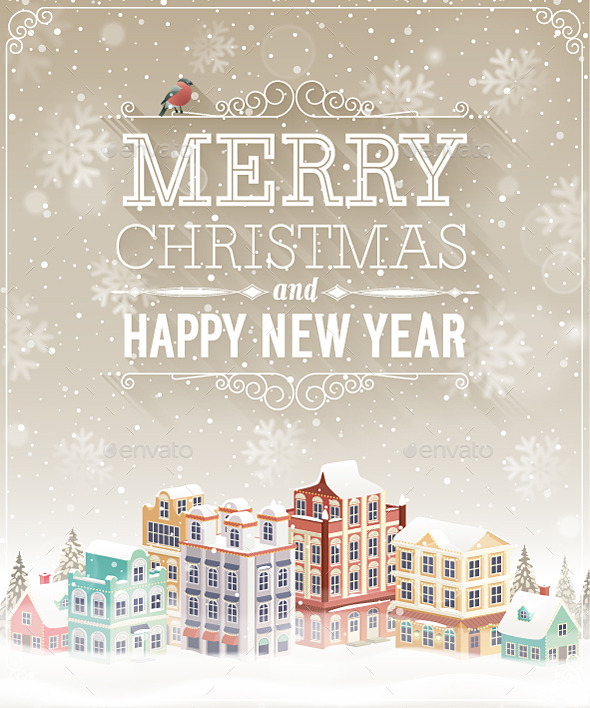 GraphicRiver Christmas Poster 9749488