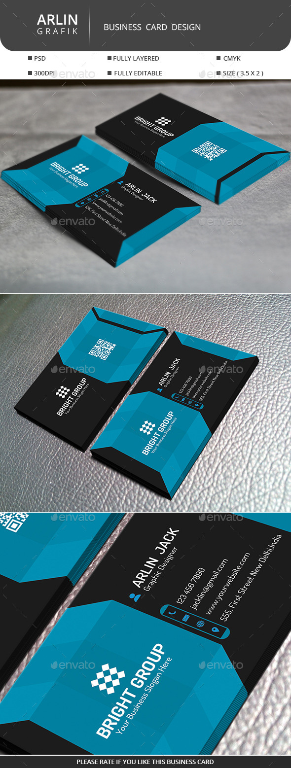 GraphicRiver Creative Business Card 9749797
