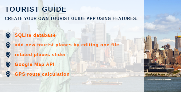 CodeCanyon Tourist Guide App Template 9680795
