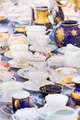 Sets of vintage china cups. - PhotoDune Item for Sale