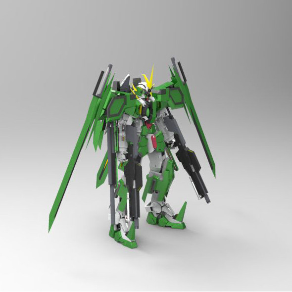 GN-002 DHE Dynames Hells Emperor - 3DOcean Item for Sale