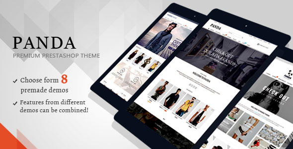 ThemeForest Panda Responsive Prestashop Theme 9750650