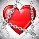Heart and Chains - GraphicRiver Item for Sale