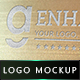 Realistic Logo Mock-up - GraphicRiver Item for Sale