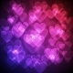 Hearts Bokeh Background - GraphicRiver Item for Sale