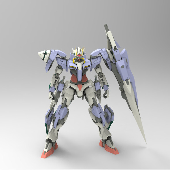 Gundam 00 7 Swords - 3DOcean Item for Sale