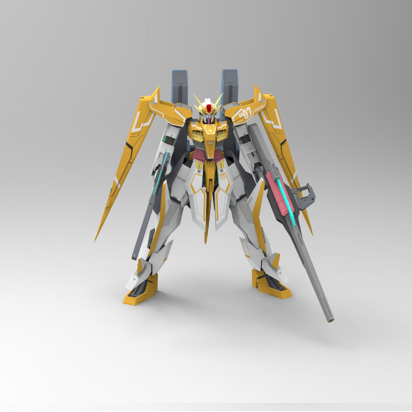 GN-007 GUNDAM ARIOS - 3DOcean Item for Sale