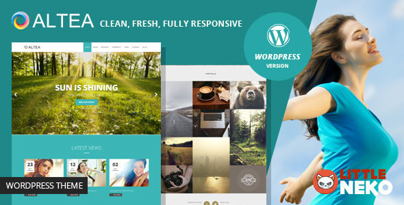 ThemeForest Altea One Page WordPress Theme 9751094