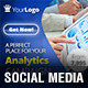Analytics Campaign Social Media Pack - GraphicRiver Item for Sale