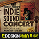 Indie Sound Concert - GraphicRiver Item for Sale