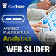 Analytics Campaign Web Slider - GraphicRiver Item for Sale
