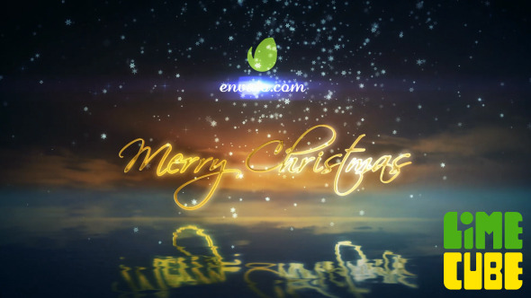 Reflective Christmas Greeting