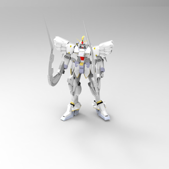Gundam Sandrock Custom - 3DOcean Item for Sale