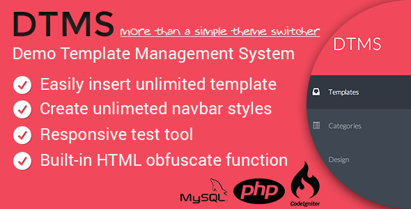 DTMS - Demo Templates Management System