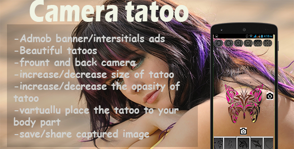CodeCanyon Camera Tattoo 9751723