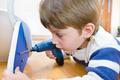 Little Boy using diy tool - PhotoDune Item for Sale