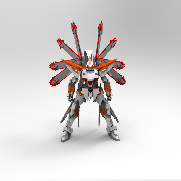 Helios Gundam - 3DOcean Item for Sale