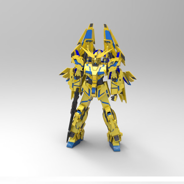 Unicorn 03 Phenex - 3DOcean Item for Sale