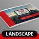 Landscape Annual Report 2015 - GraphicRiver Item for Sale