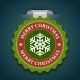 Snowflake Greeting Card - GraphicRiver Item for Sale