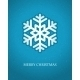 Snowflake Card - GraphicRiver Item for Sale