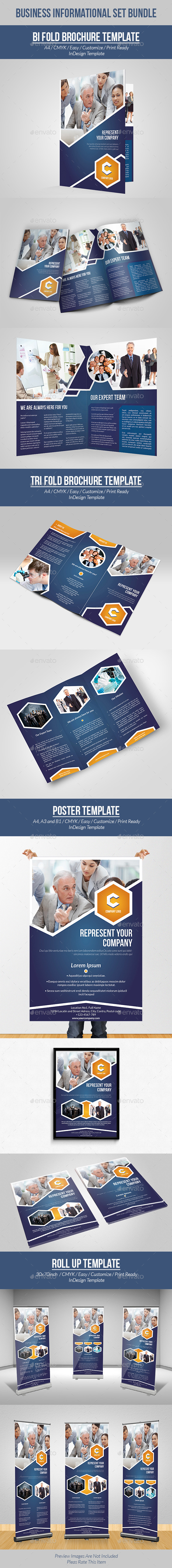 GraphicRiver Business Informational Set Bundle 9752039