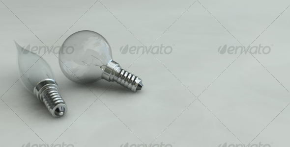 3DOcean Photorealistic Light Bulbs 124022