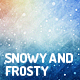 Snowy and Frosty Backgrounds - GraphicRiver Item for Sale