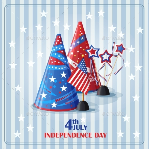 GraphicRiver Background to the Day of Independence 9752373