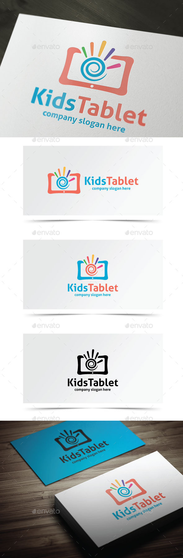 GraphicRiver Kids Tablet 9752501