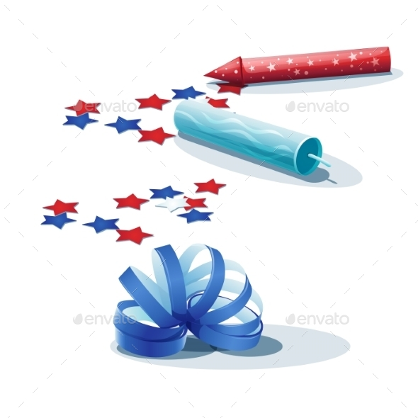 GraphicRiver Image of Confetti Streamers and Crackers 9752666