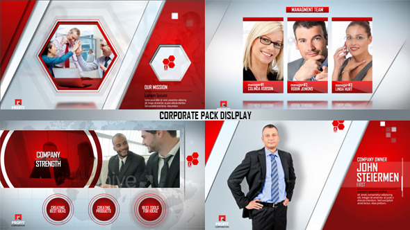 Corporate Pack Display