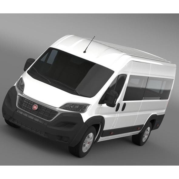 Fiat Ducato Maxi Minibus 2015 - 3DOcean Item for Sale