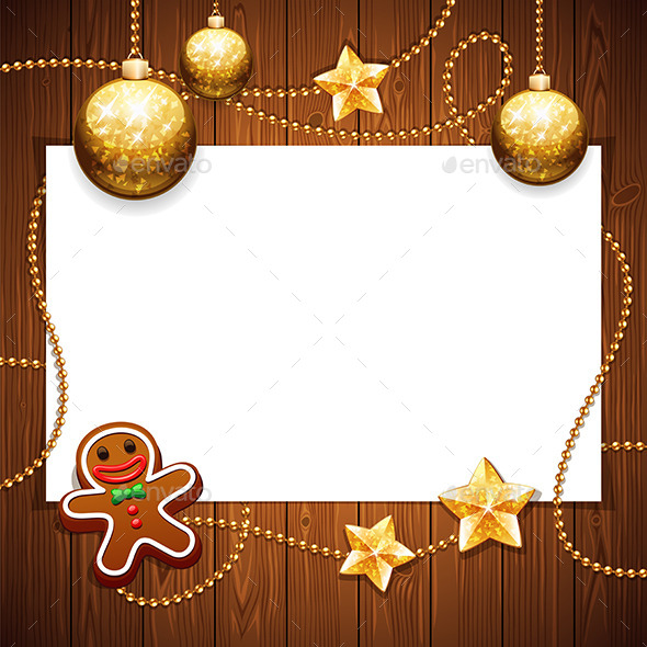 Christmas Background with Copy Space