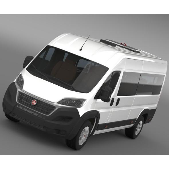 Fiat Ducato Scuolabus 2015 - 3DOcean Item for Sale
